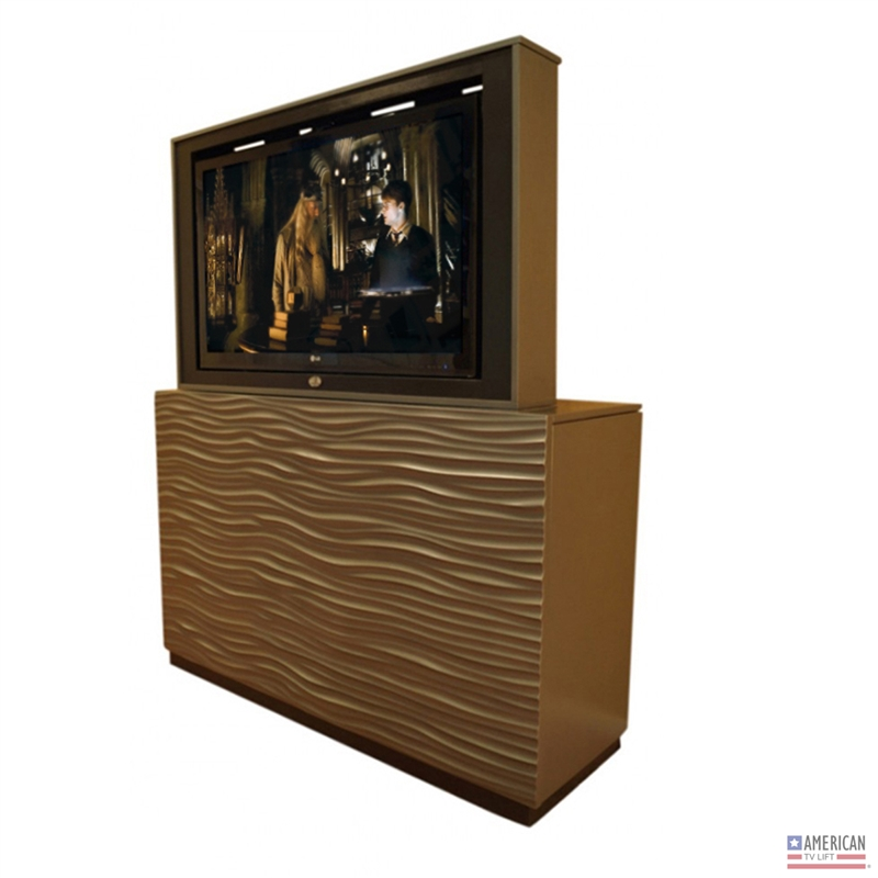 Modern Wave TV Lift Cabinet