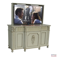 Traditional Naples TV Lift Cabinet