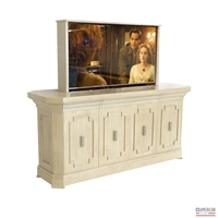 Transitional Imperial TV-Lift Cabinet