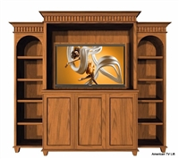 Traditional Tahoe Entertainment TV Lift Cabinet