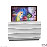 Modern Flo TV Lift Cabinet