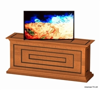 Transitional Cario TV Lift Cabinet