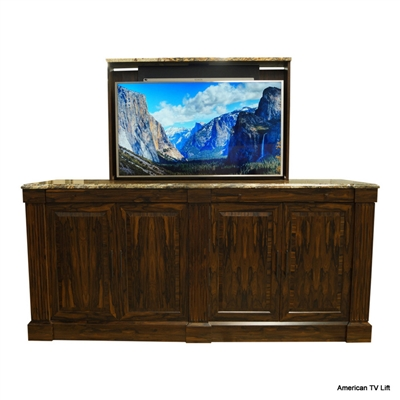 Transitional Manhattan TV Lift Cabinet