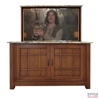 Mission Empire TV Lift Cabinet