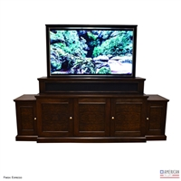Transitional Austin TV Lift Cabinet