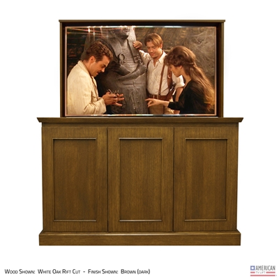 Transitional Westport TV Lift Cabinet