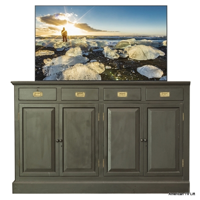 Traditional Monroe TV Lift Cabinet