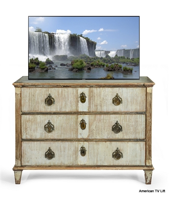 Traditional Decade TV Lift Cabinet