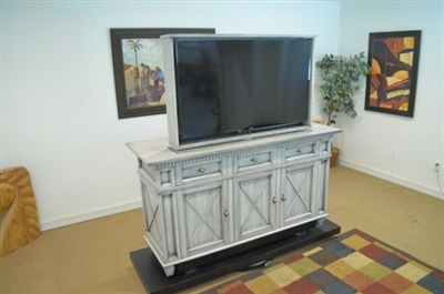 Traditional Texas TV Lift Cabinet