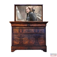Traditional Corpus TV Lift Cabinet