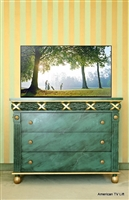 Traditional Caesar TV Lift Cabinet