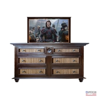 Traditional Edmond TV Lift Cabinet