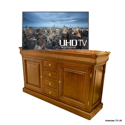 Traditional Bentonville TV Lift Cabinet