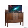 Traditional Brock Hall TV Lift Cabinet