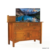 Traditional Quarters TV Lift Cabinet