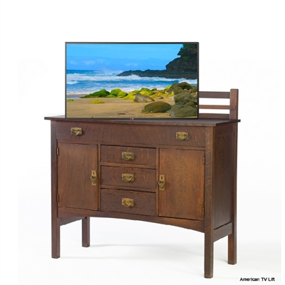 Traditional Bowman TV Lift Cabinet