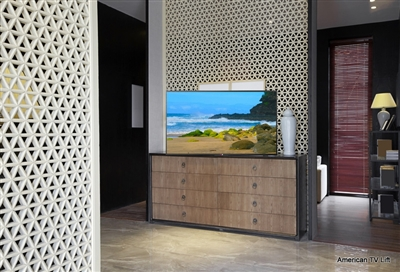 Modern Vegas TV Lift Cabinet