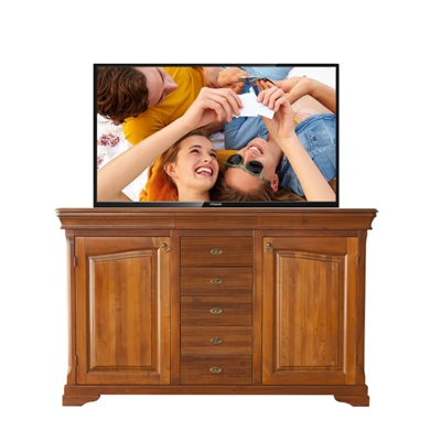 Traditional Canyons TV Lift Cabinet