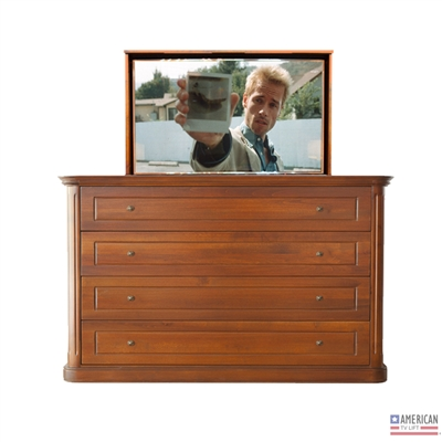 Traditional Mansfield TV Lift Cabinet