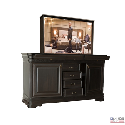 Transitional Trenton TV Lift Cabinet