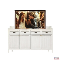 Transitional Sedona TV Lift Cabinet