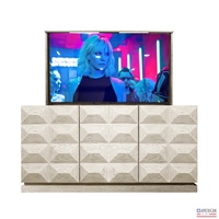 Modern Utah TV Lift Cabinet (FC)