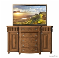 Traditional Dakota TV Lift Cabinet