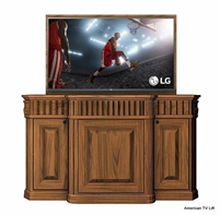 Traditional Acanthus TV Lift Cabinet