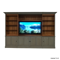 Traditional Cape Coral TV Cabinet