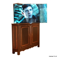 French Country TV Lift Cabinet