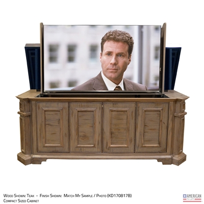 Traditional Irvington Outdoor TV Lift Cabinet