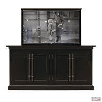 Restoration 20TH C. English Brass Bar TV Lift
