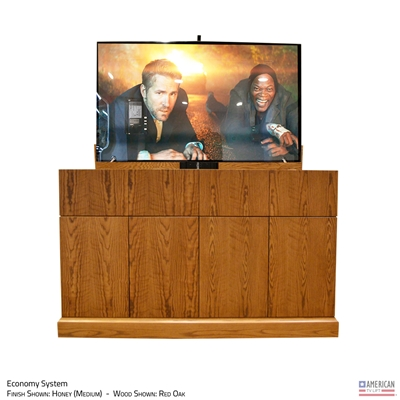 "65"" TV Lift Cabinet - Modern Taos (SC)"