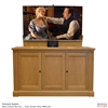 "60"" TV Lift Cabinet - Traditional Jefferson (SC)"