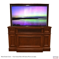 "65"" TV Lift Cabinet - Traditional Hamilton"