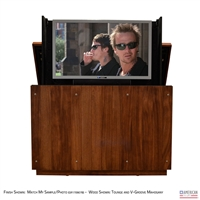 "50"" TV Lift Cabinet - Modern Orlando Outdoor (SC)"