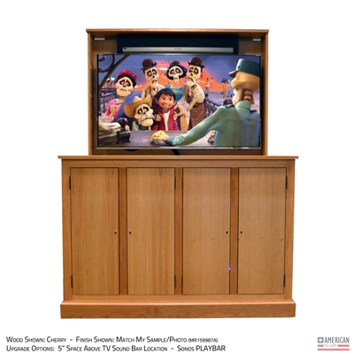 "55"" TV Lift Cabinet - Traditional Ridgeland (SC)"