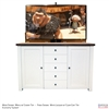 "60"" TV Lift Cabinet - Traditional Pomona (SC)"
