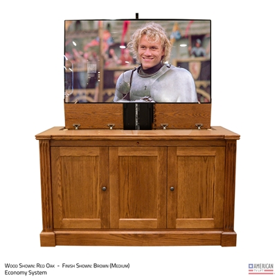 "50"" TV Lift Cabinet - Traditional Jefferson (SC)"
