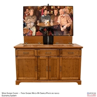 "50"" TV Lift Cabinet - Traditional Easton SD"