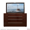 "70"" TV Lift Cabinet - Modern Fairview (SC)"