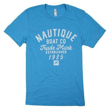 Wheelhouse S/S Tee - Heather Aqua