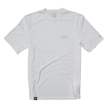 Billabong Arch Mesh SS Surf Tee - White