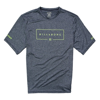 Billabong Union SS Surf Tee - Navy Heather