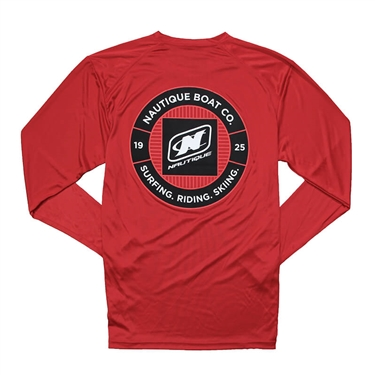 Arc LS Performance Tee - Red