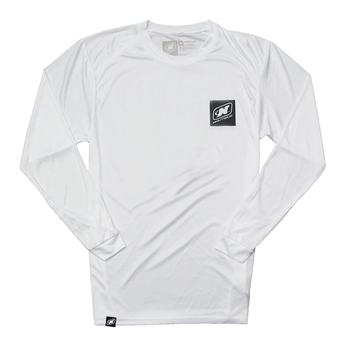 Arc LS Performance Tee - White