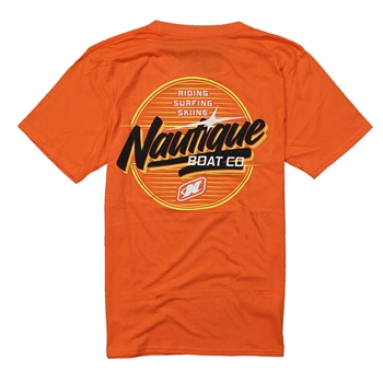 Chrome Tee - Orange