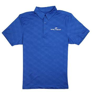 Embossed Polo - Nautical Blue