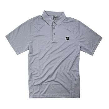 Nautique Heathered Sport Polo - Titanium