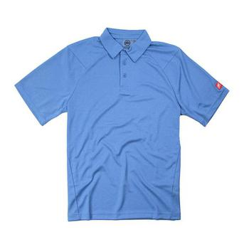Nautique Heathered Sport Polo - Ocean Blue